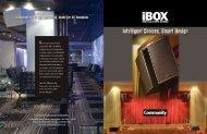 iBOX Brochure 12-30-09.fin - Community Professional Loudspeakers