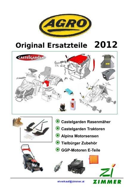 Messer Mulchmesser 81004381//1 Castelgarden Rasenmäher