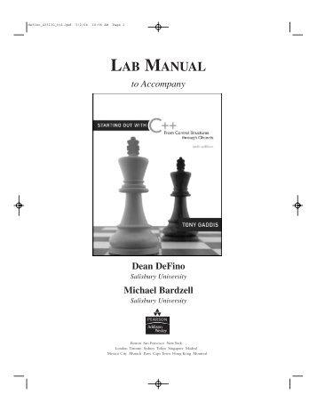 College lab manual