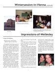 Wegweiser 2006 - Wellesley College - Page 7