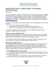 MEDICARE PART D CREDITABLE COVERAGE NOTIFICATION
