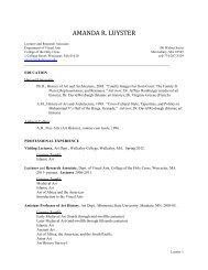 Amanda R. Luyster - Wellesley College