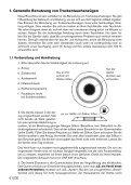GEBRAUCHS- UND PFLEGE- ANWEISUNG FÜR TROCKEN - Aquata - Page 2
