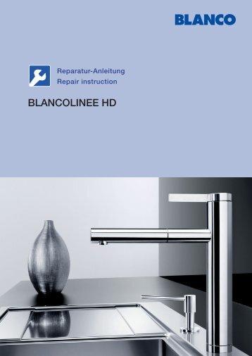 Reparaturanleitung BLANCOLINEE - Serwis