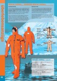 rescue suits - Aquata