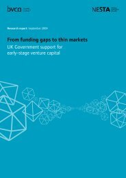 From funding gaps to thin markets - BVCA admin - British Venture ...