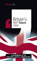 Britain's - BVCA admin