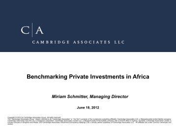 Cambridge Associates - BVCA admin