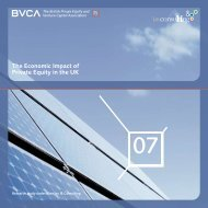 The Economic Impact of Private Equity in the UK - BVCA admin