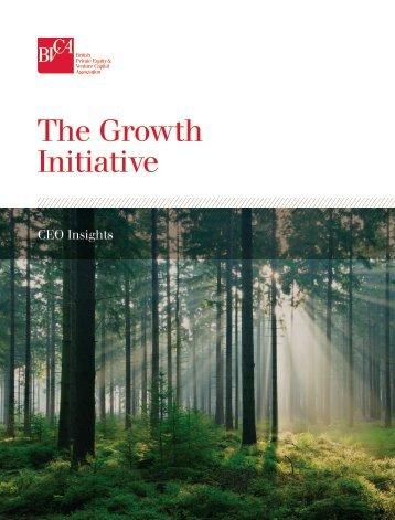 The Growth Initiative - BVCA admin