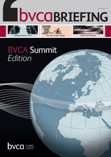 The rise of super angels - BVCA admin