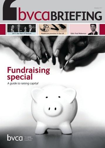 fundraising special - BVCA admin