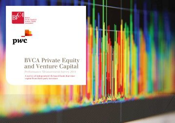 BVCA Private Equity and Venture Capital ... - BVCA admin