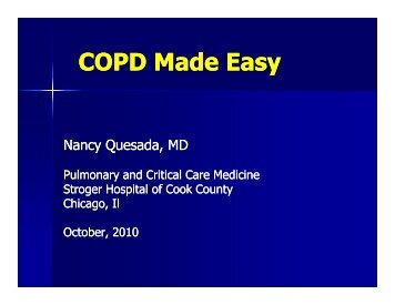 COPD Lecture