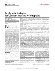Prophylaxis Strategies for Contrast-Induced Nephropathy