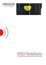 Kenwood | Atex | Brochure | Nederlands