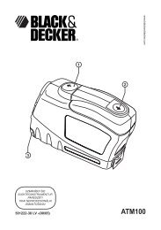 ATM100 - Service - Black & Decker