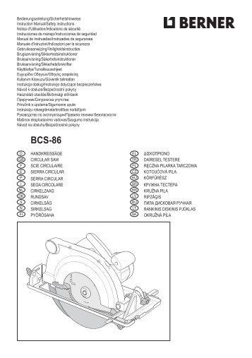 BCS-86 - Service