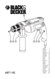 AST 1 XC - Service - Black & Decker