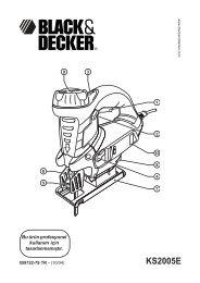 559722-79 TR KS2005E.pmd - Service - Black & Decker
