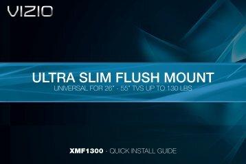 ULTRA SLIM FLUSH MOUNT