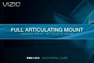 FULL ARTICULATING MOUNT