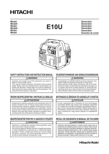 safety instructions and instruction manual sicherheitshinweise und ...