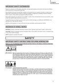 safety instructions and instruction manual sicherheitshinweise und ... - Page 5