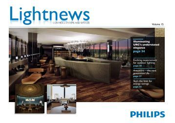 Volume 15 - Philips Lighting