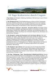 10 Tage Ungarn - BezirkslandFrauenvereins Gießen