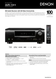 AVR-1311 - Hifi Gear