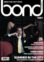 bond men's magazine - Ausgabe #001 [2010]
