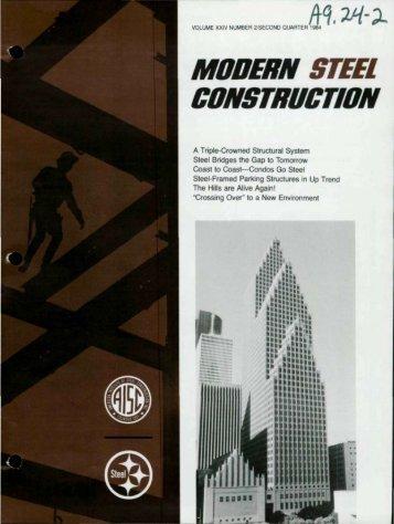 Itq, ~-~ - Modern Steel Construction