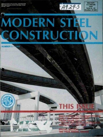 5 - Modern Steel Construction