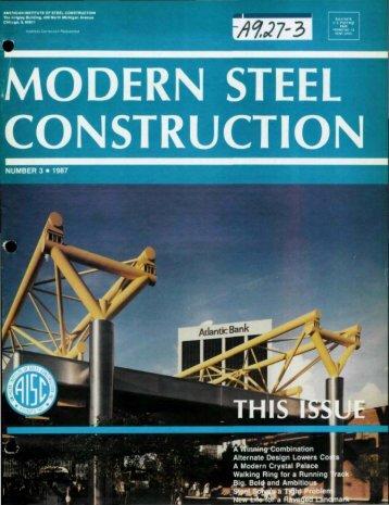 Deck design data sheet. - Modern Steel Construction
