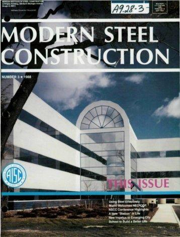 3 - Modern Steel Construction
