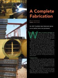 A Complete Fabrication - Modern Steel Construction