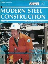 1 - Modern Steel Construction