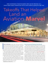 Takeoffs That Helped Land an Aviation Marvel - Modern Steel ...