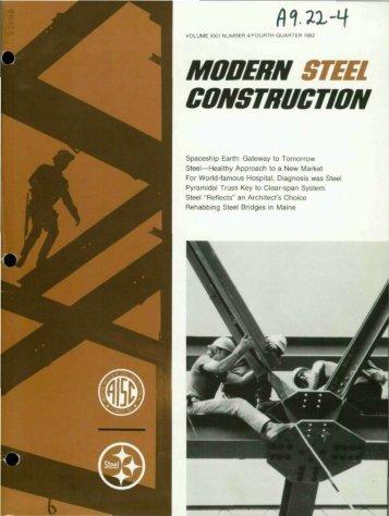 Q4 - Modern Steel Construction
