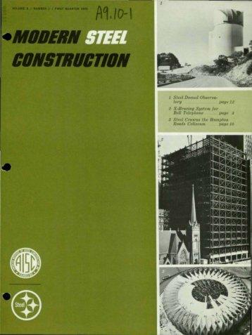 Q1 - Modern Steel Construction