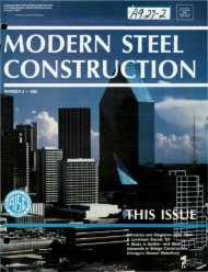 2 - Modern Steel Construction