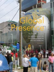 Global Presence - Modern Steel Construction