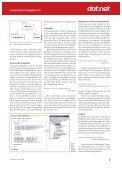 Arbeitsameise NAnt (dot.net Magazin 03/2004) - applied ... - Seite 3