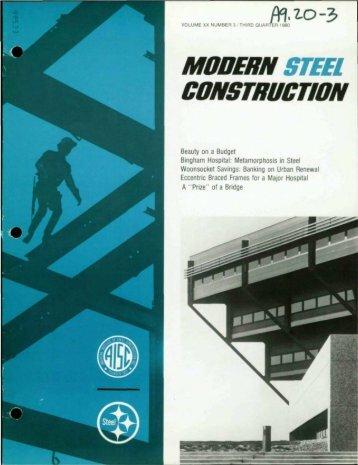 Bingham Hospital - Modern Steel Construction