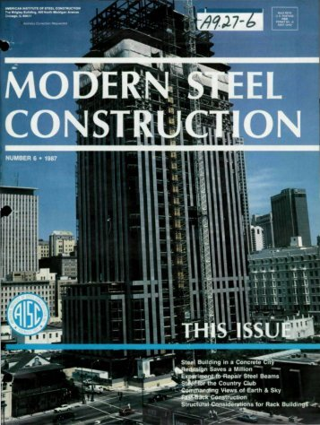 6 - Modern Steel Construction