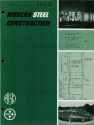 11/, the AISC Spec - Modern Steel Construction