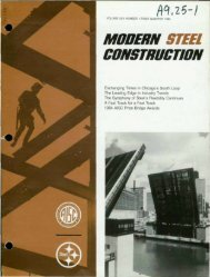 Q1 - Modern Steel Construction