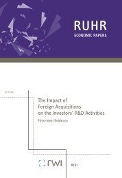 The Impact of Foreign Acquisitions on the Investors' R&D Activities