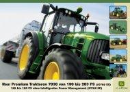 John Deere Traktor 7030 premium - Schweizer Eiken AG